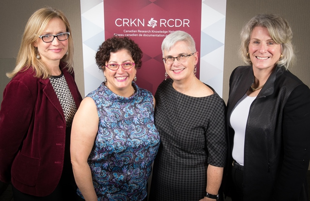 Carol Shepstone, Clare Appavoo, Leslie Weir and Dr. Elizabeth Cannon