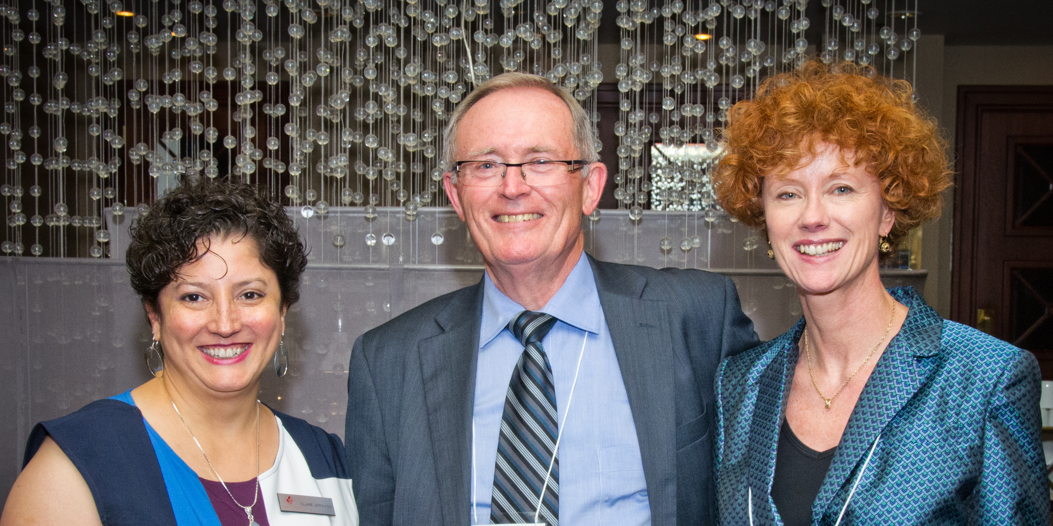 Clare Appavoo, Ron Bond, Donna Bourne-Tyson (AGM 2013, Toronto)